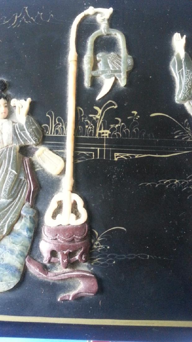 antique Lacquer Box - 5