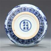 Blue and white porcelain ming