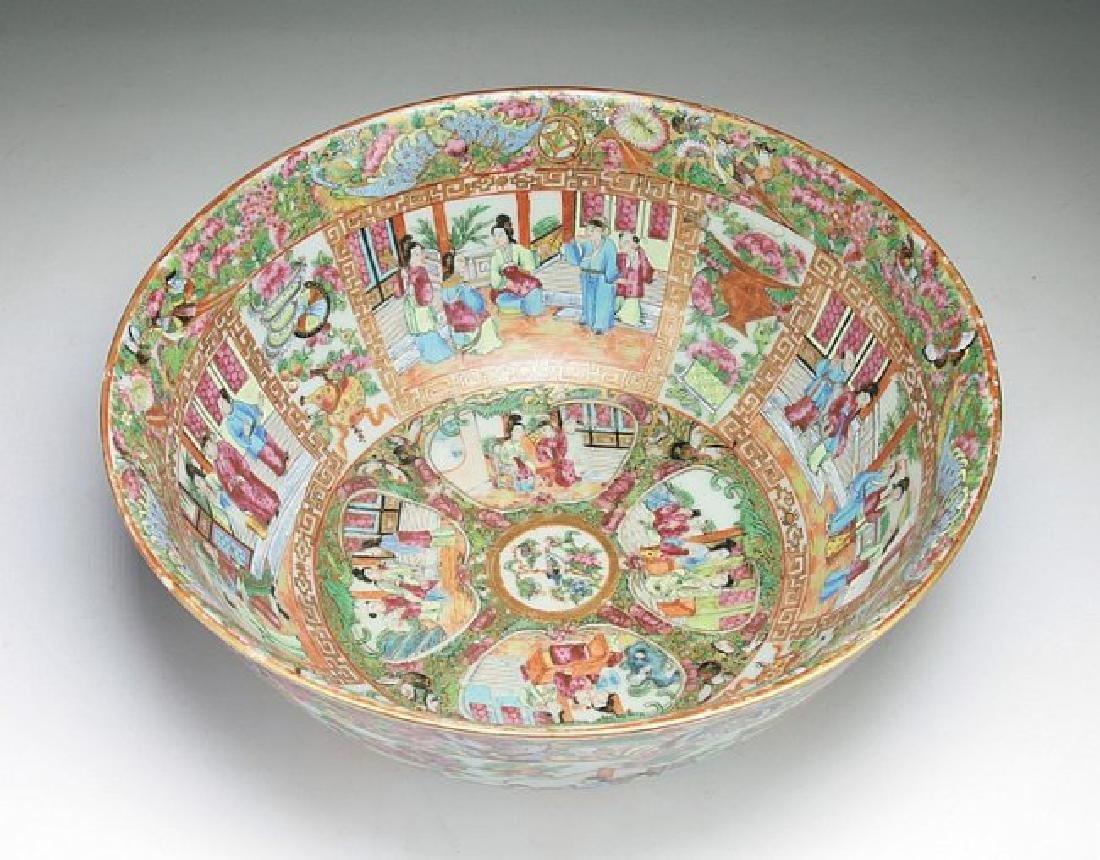 A Big Chinese Antique Qianlong Rose Medallion Porcelain - 3