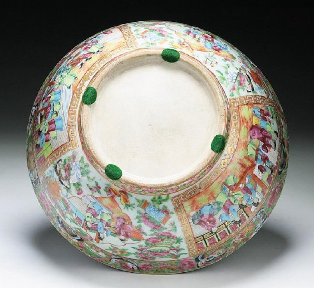 A Big Chinese Antique Qianlong Rose Medallion Porcelain - 4