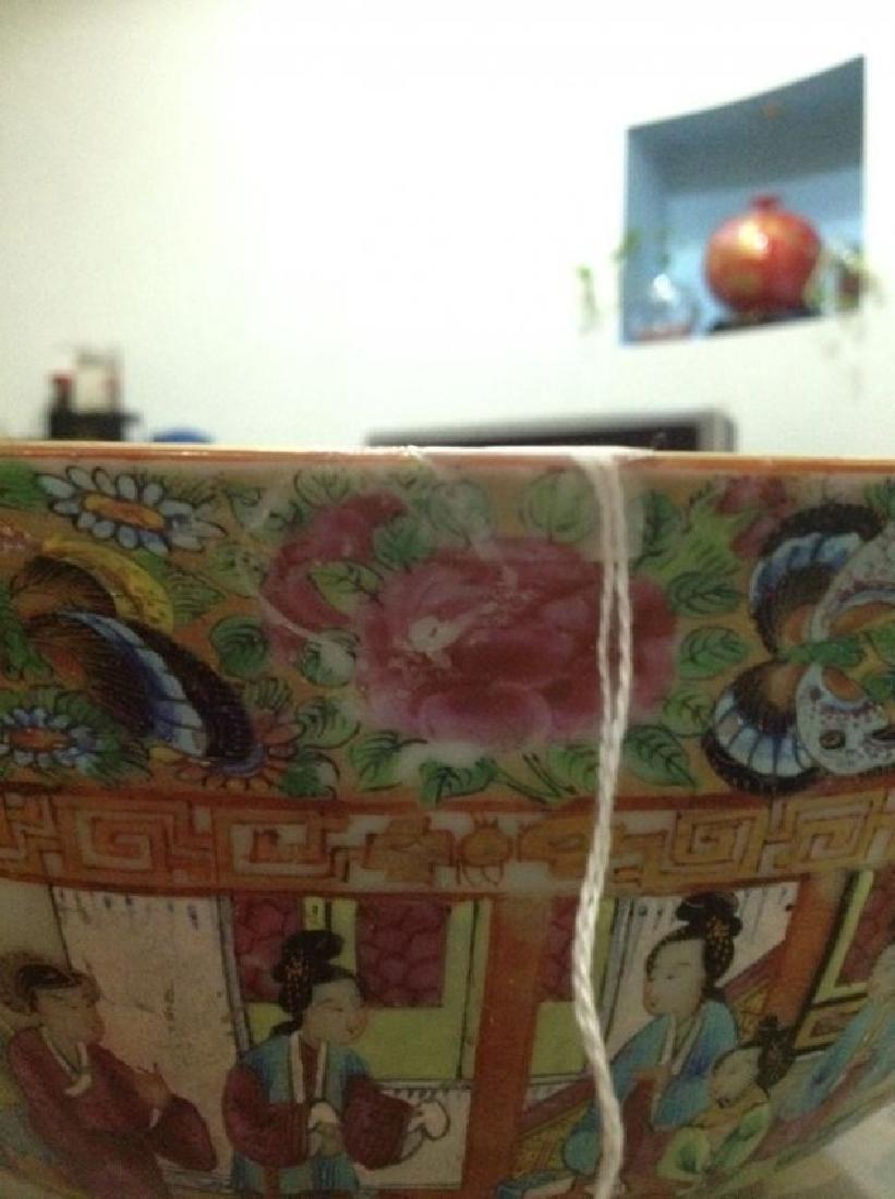 A Big Chinese Antique Qianlong Rose Medallion Porcelain - 5