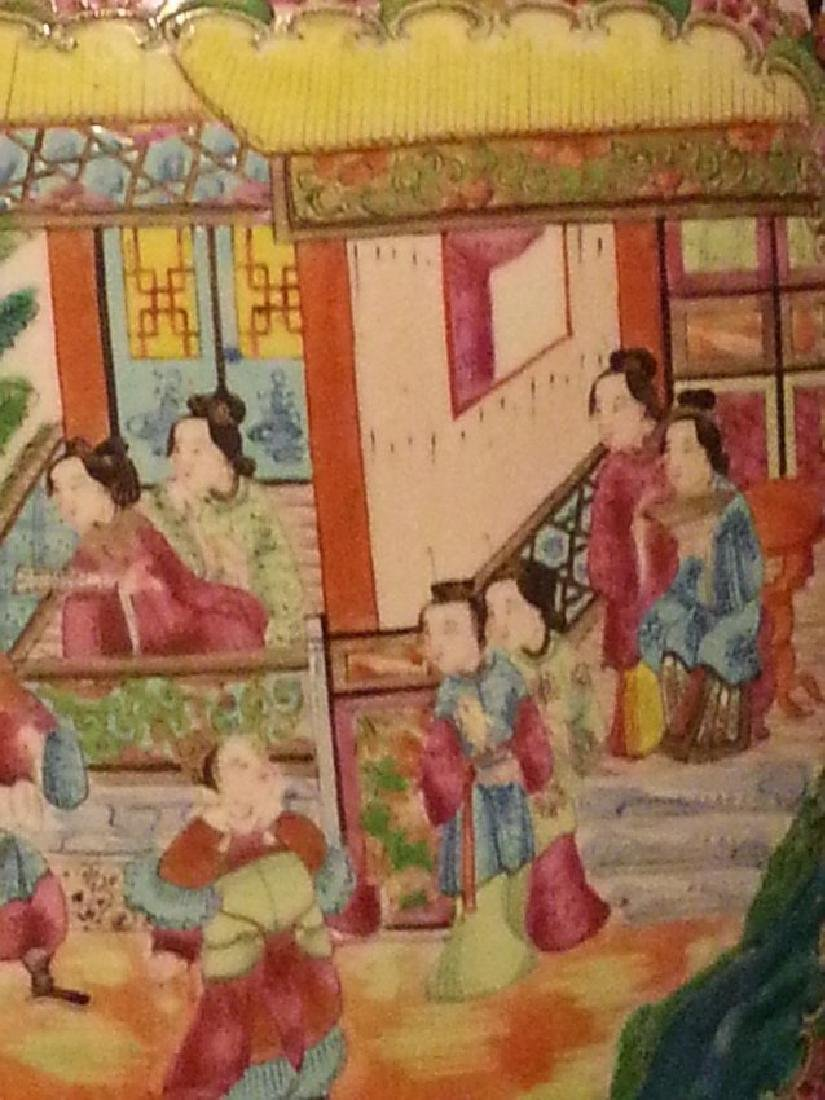 Antique Chinese Famille Rose Porcelain VASE - 2