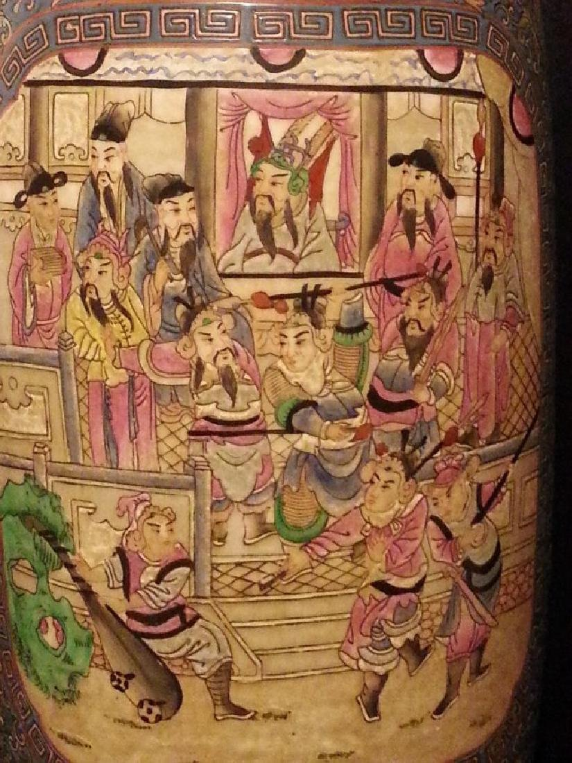 Antique Chinese Famille Rose Porcelain VASE - 3