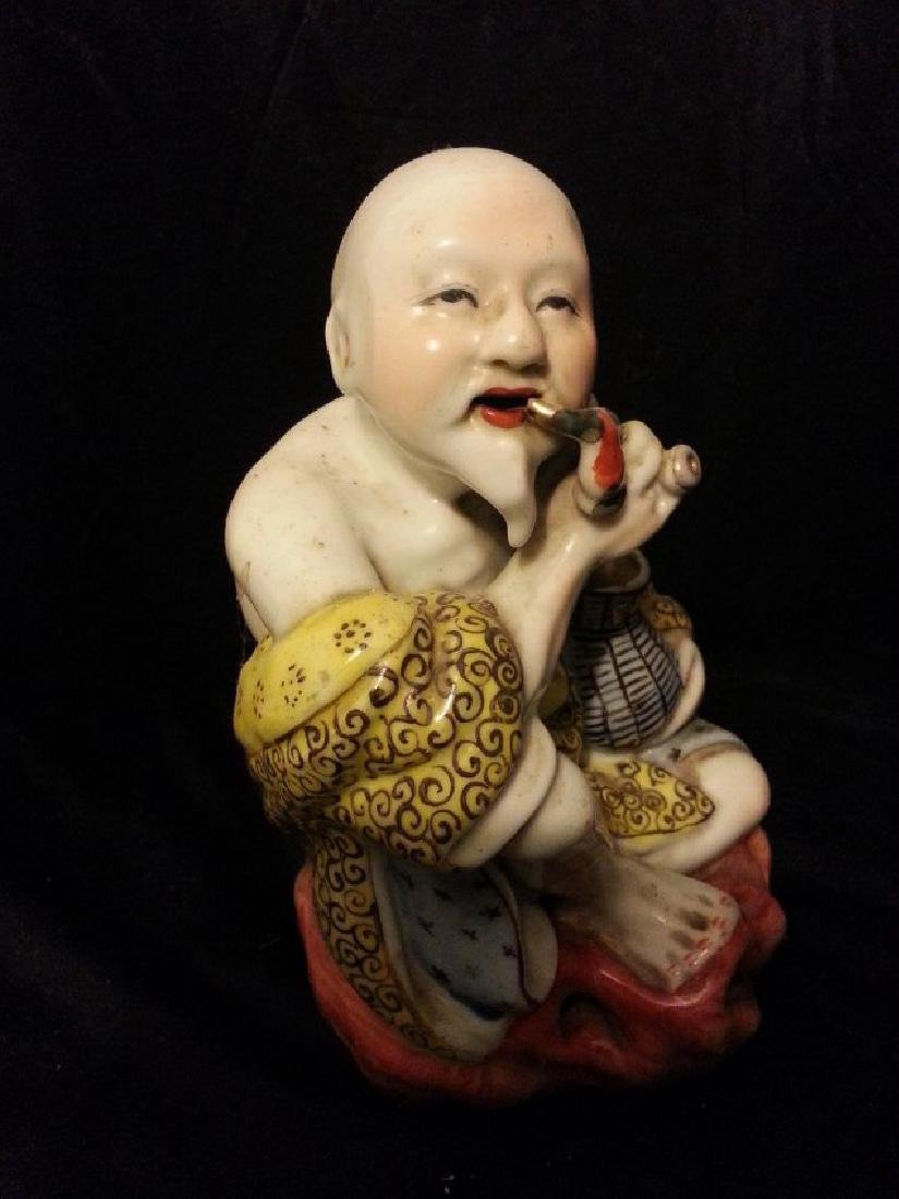 Chinese Famille Rose enameled porcelain