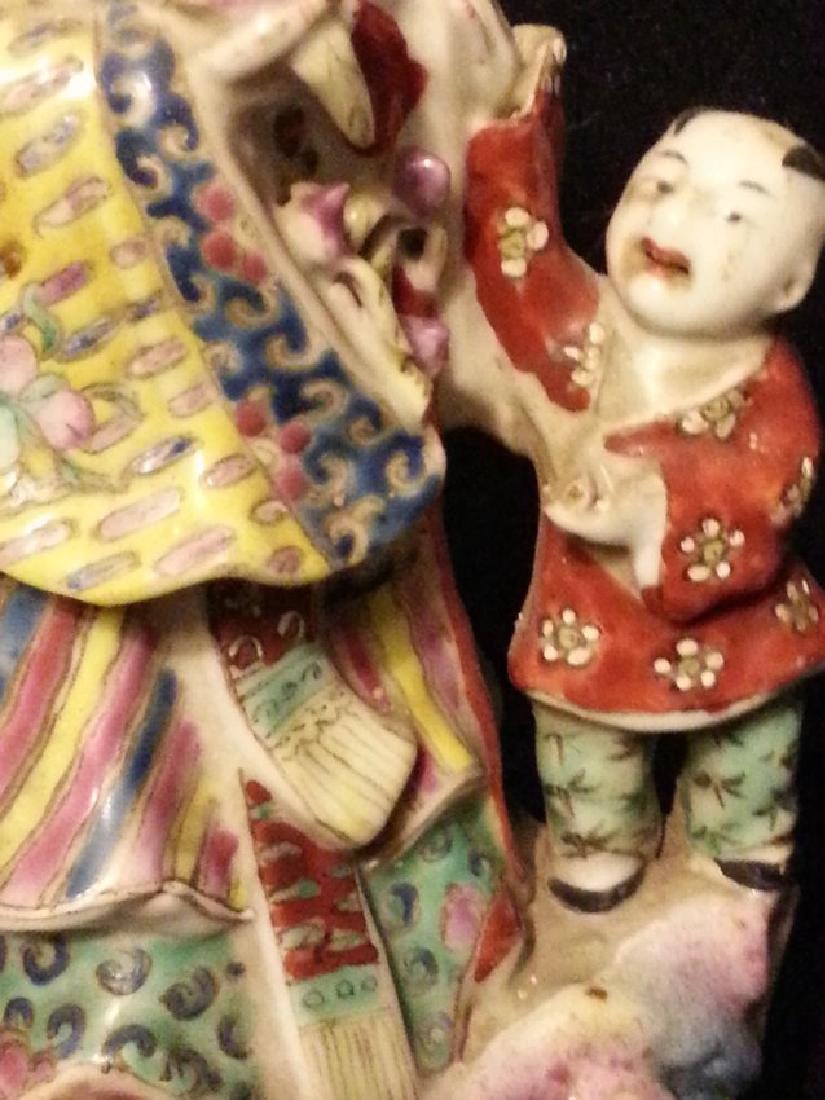 Chinese Famille Rose enameled porcelain - 2
