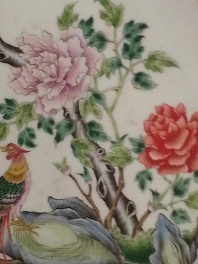 ANTIQUE Chinese Famille Rose Porcelain Dishes. - 4