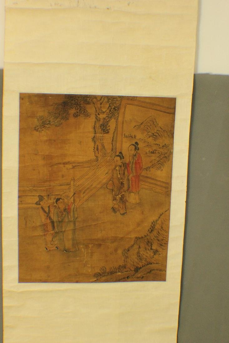 QING DYNASTY CHINESE PAINTING - 2