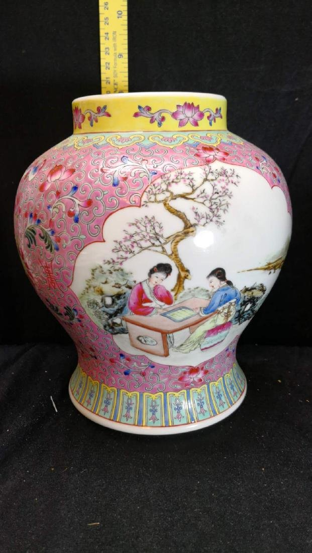 Old Chinese  porcelain jar
