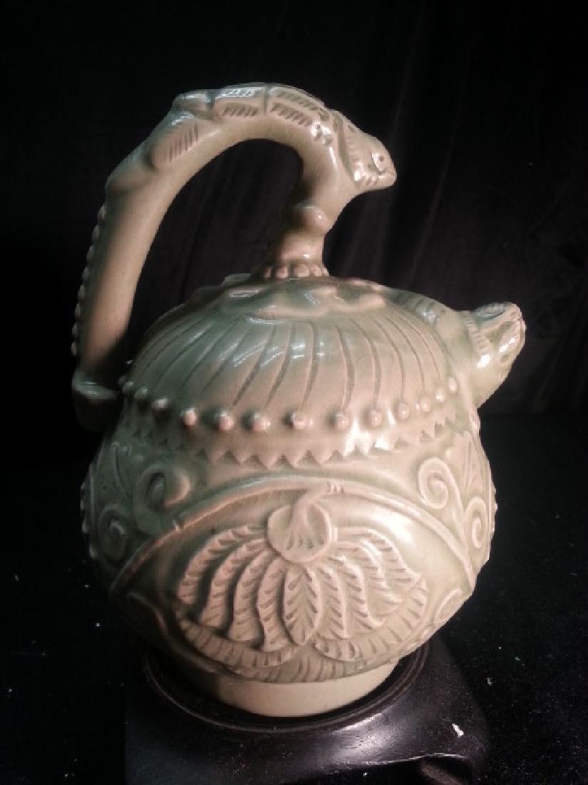 ANTIQUE PORCELAIN Teapot
