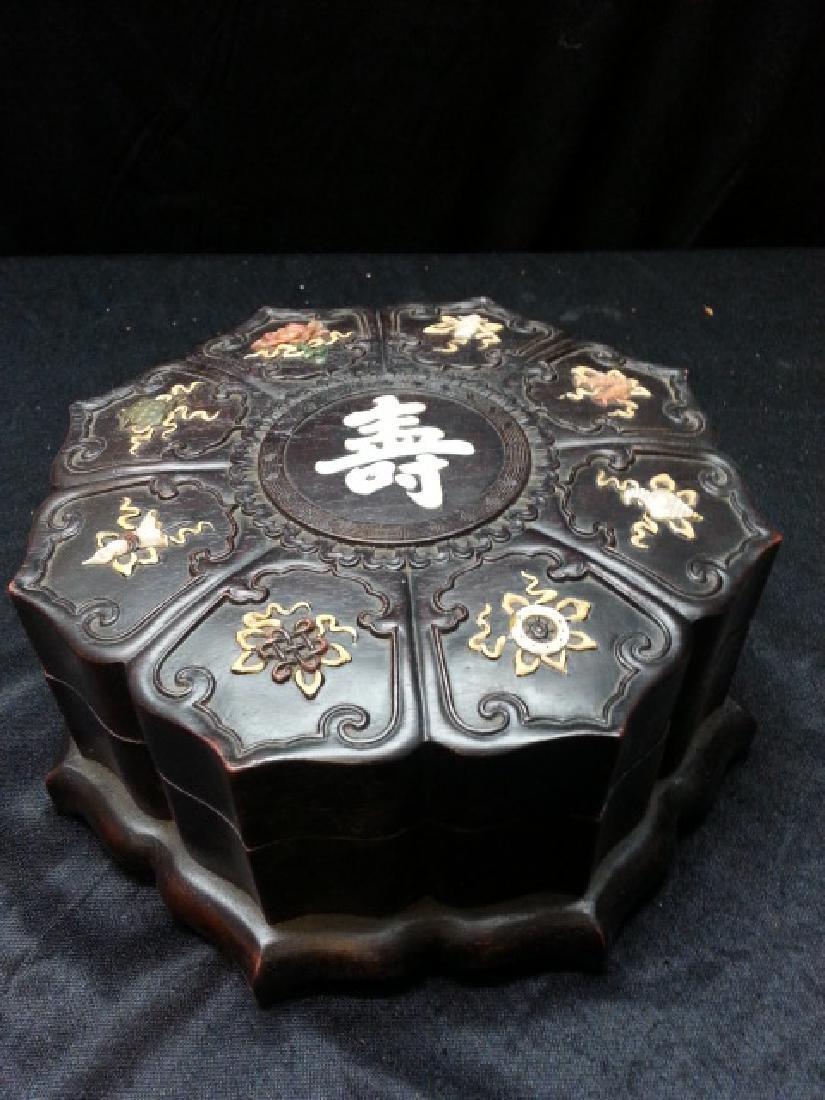 Antique zitan wood Box