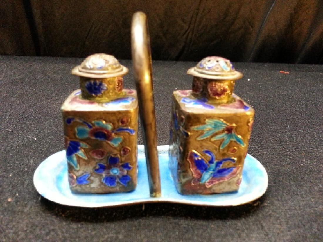 Chinese CLOISONNE little bottle