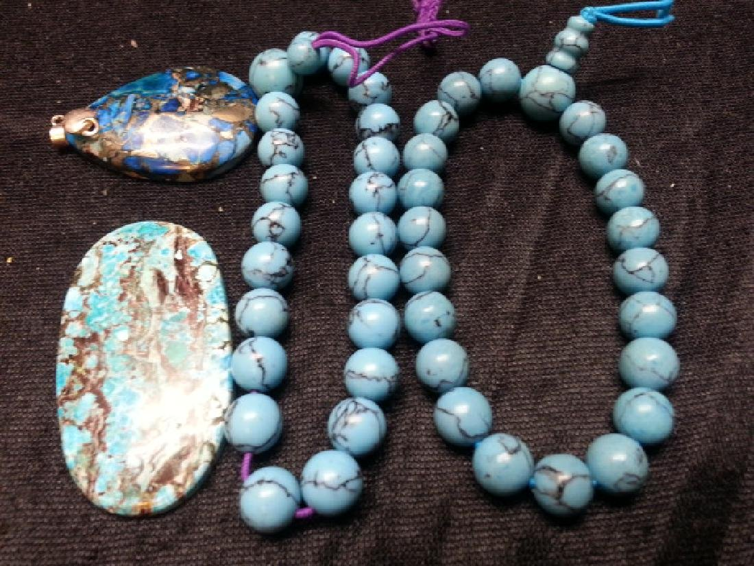 ANTIQUE  Turquoise Pendant