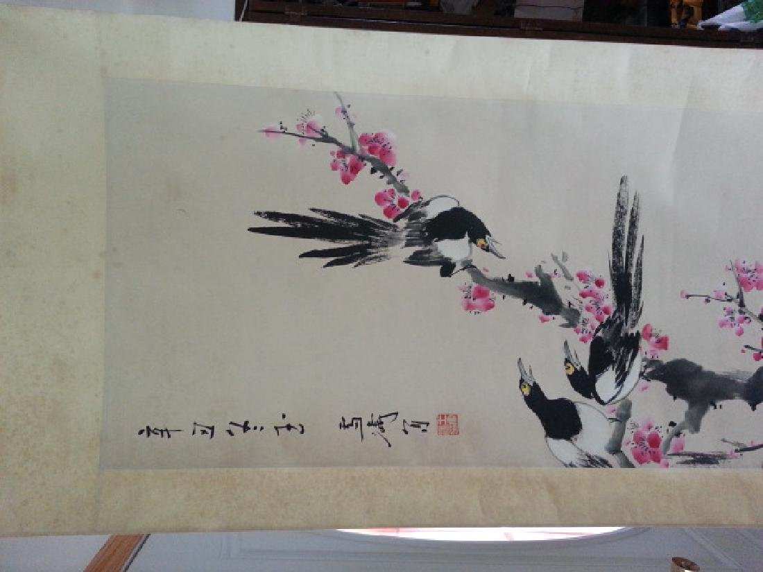 A Chinese hand paint