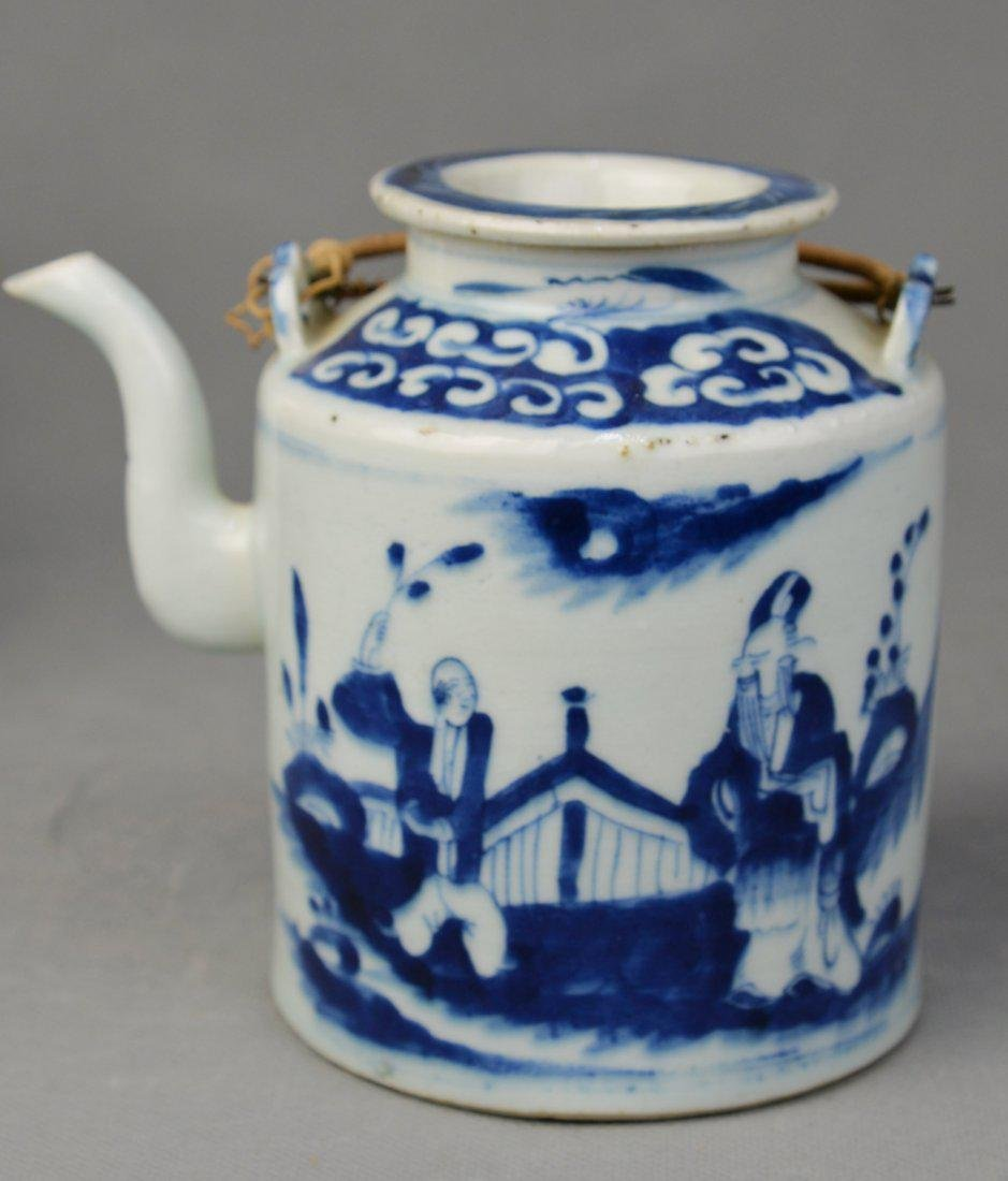A W & BTeapot of Figure Pattern in Qing Dynasty