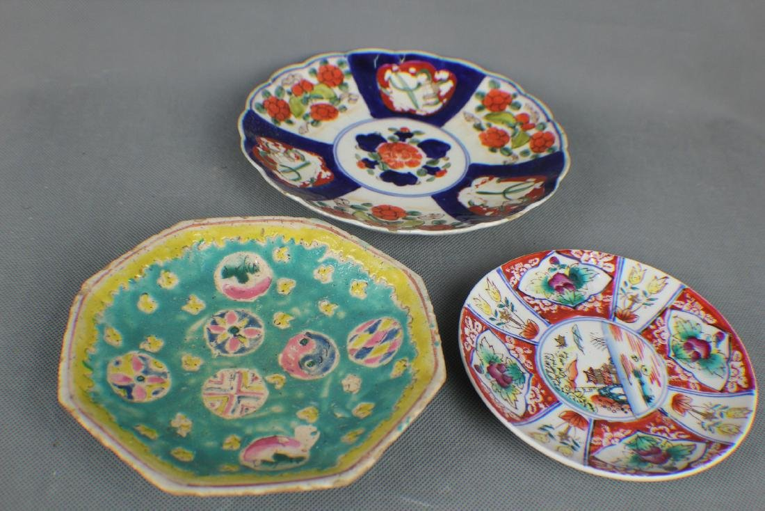 3 pcs plate