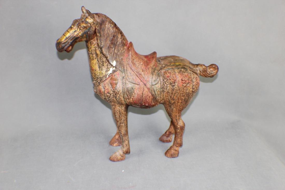 ANTIQUE IRON HORSE
