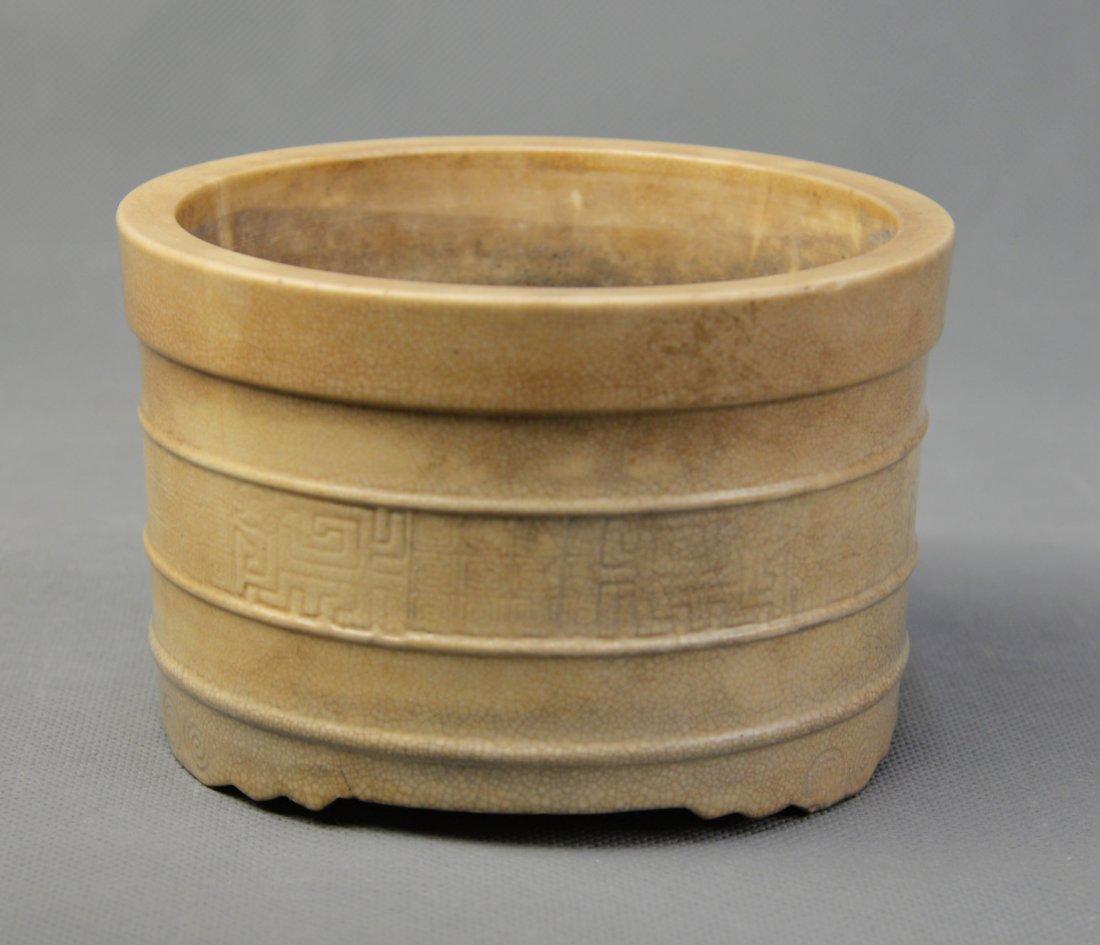 A Te-hua Porcelain Censer, Ming Dynasty