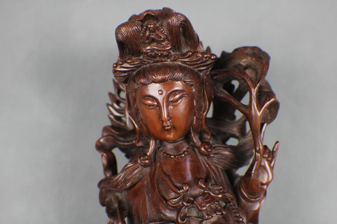 woodcarving  GUAN YIN QING  Dynasty