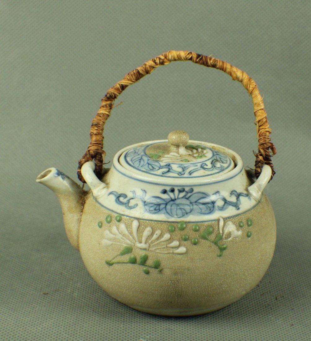 A White Yi Xing Teapot from Qing Dynasty