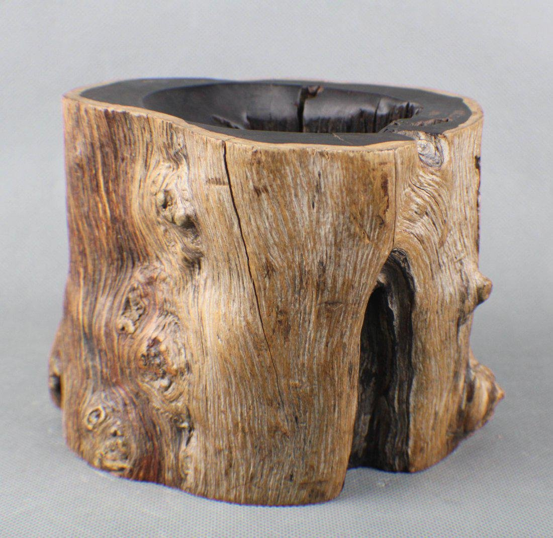 An Ebony Brushpot
