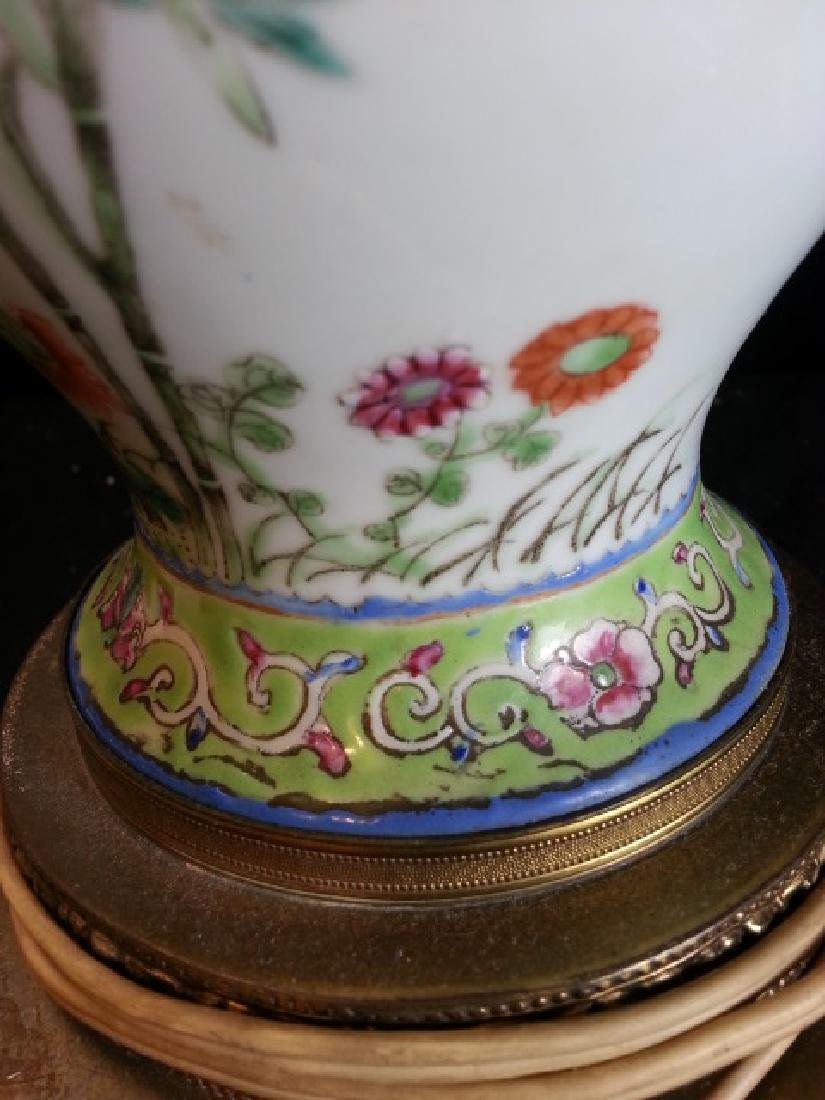 Antique Chinese Famille Rose Porcelain VASE - 7