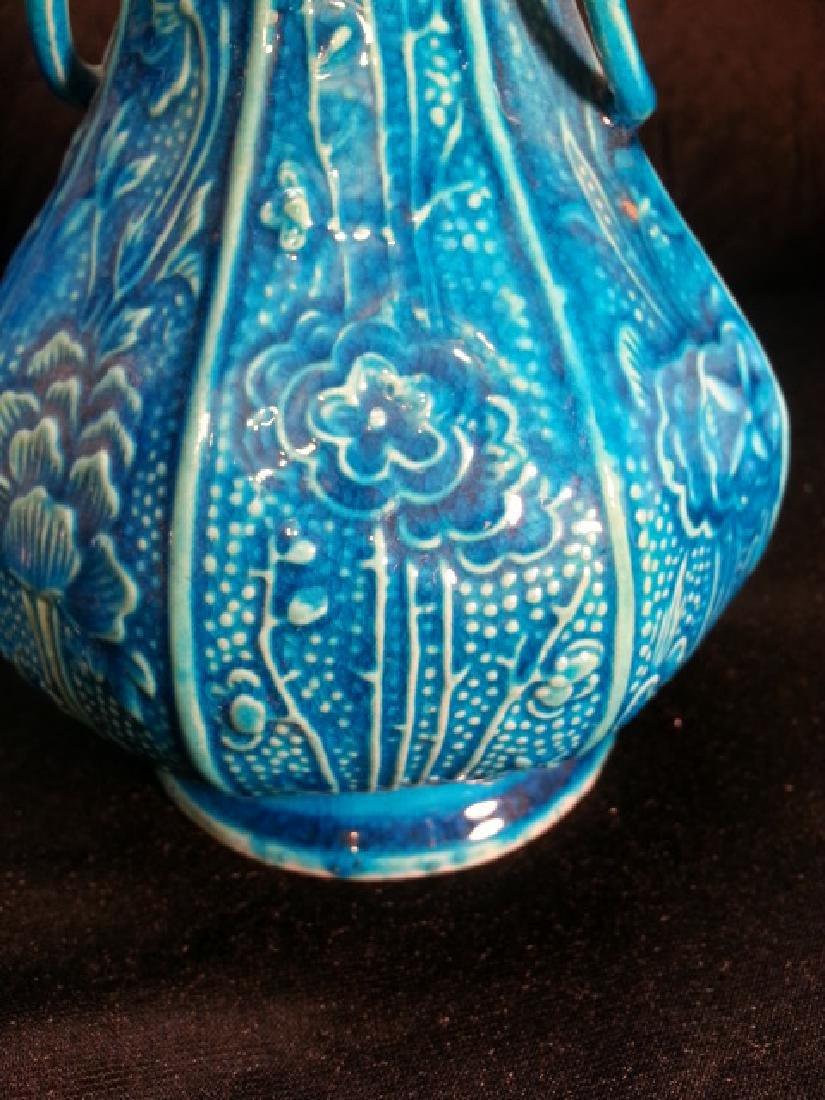 "A  pair Antique Porcelain Vase  early 19th"" - 3"