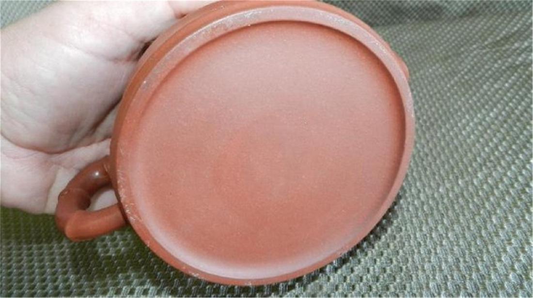 Asian Terracotta red tea pot - 4