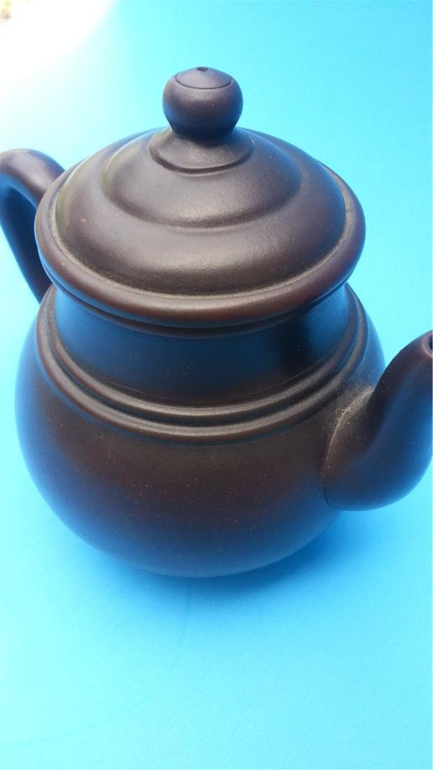 ANTIQUE Chinese Teapot - 2