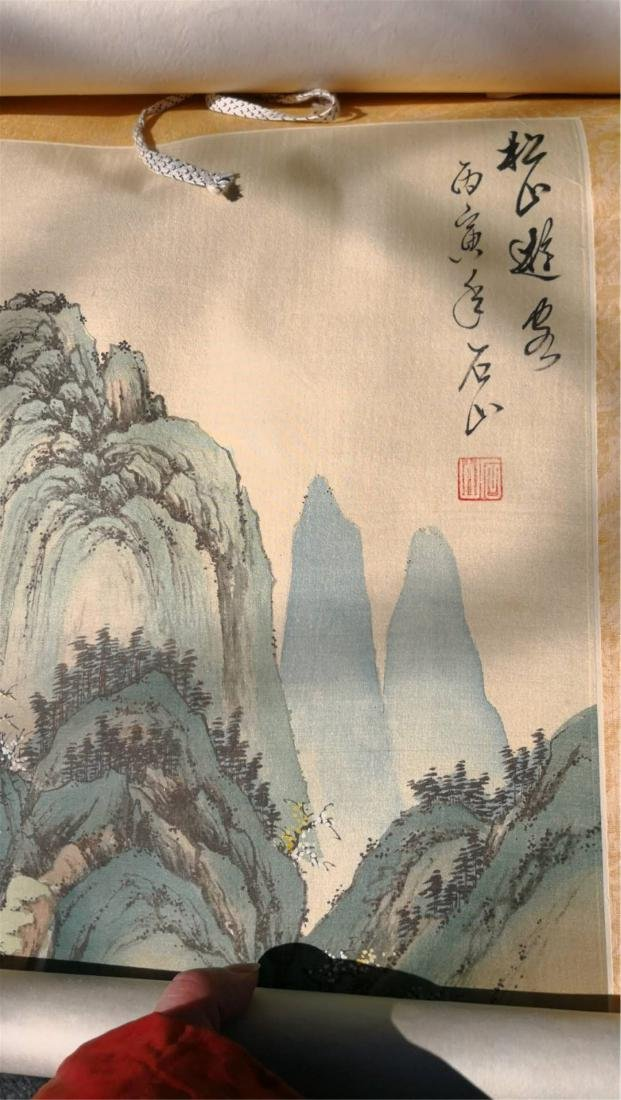 """China  scroll paintings"""" - 3"""