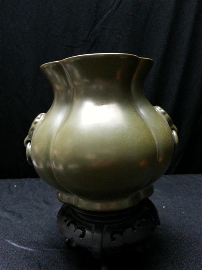 "Antique Porcelain Jar early 18th"" - 6"