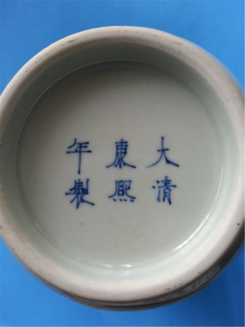 "Antique Porcelain vase early 19th"" - 2"