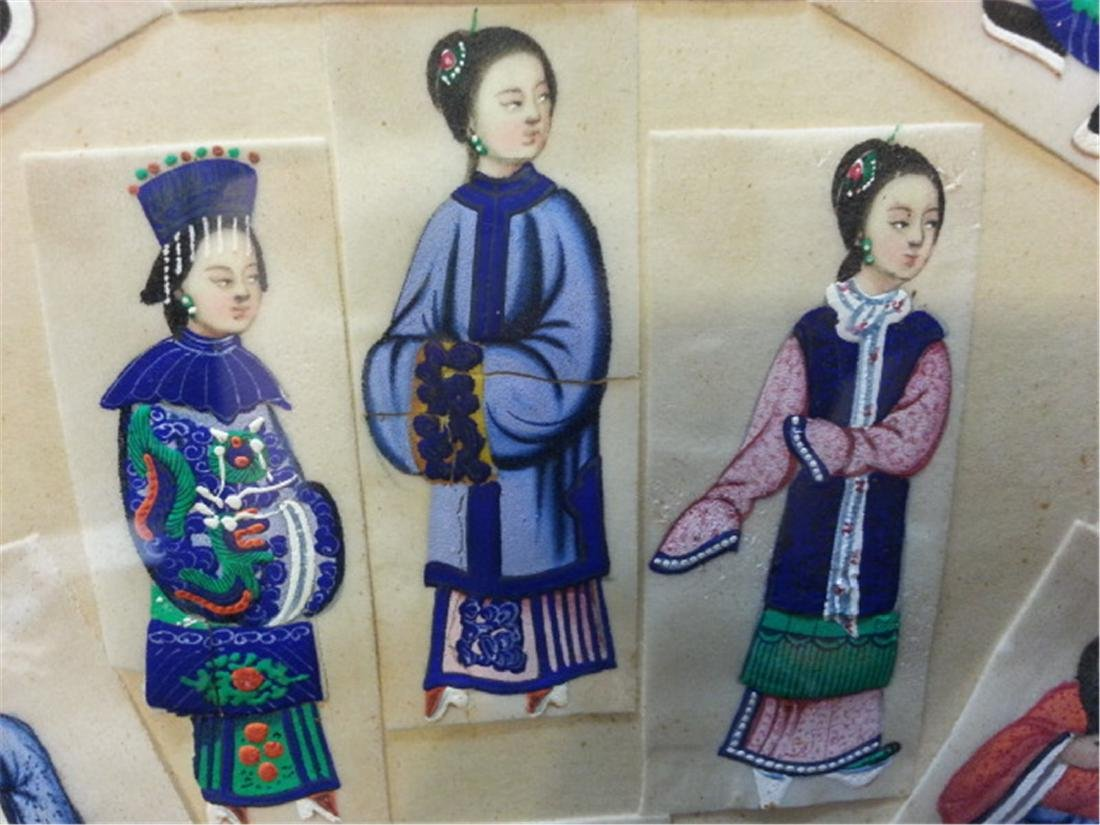 19th century Rice Paper Painting通草画 - 4