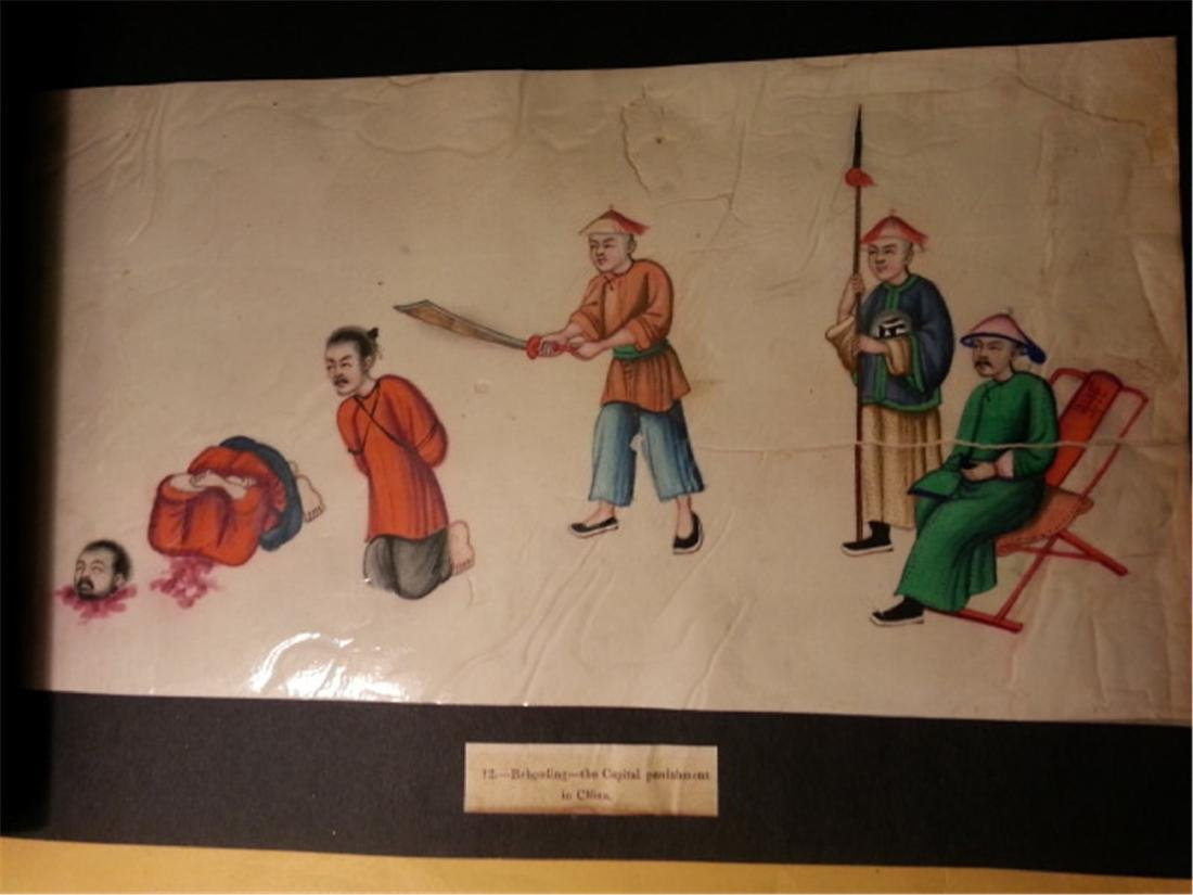 19th century Rice Paper Painting通草画 - 3