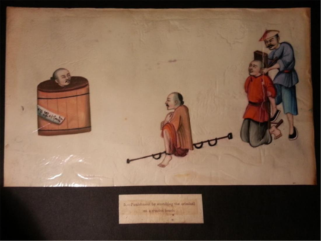 19th century Rice Paper Painting通草画 - 5