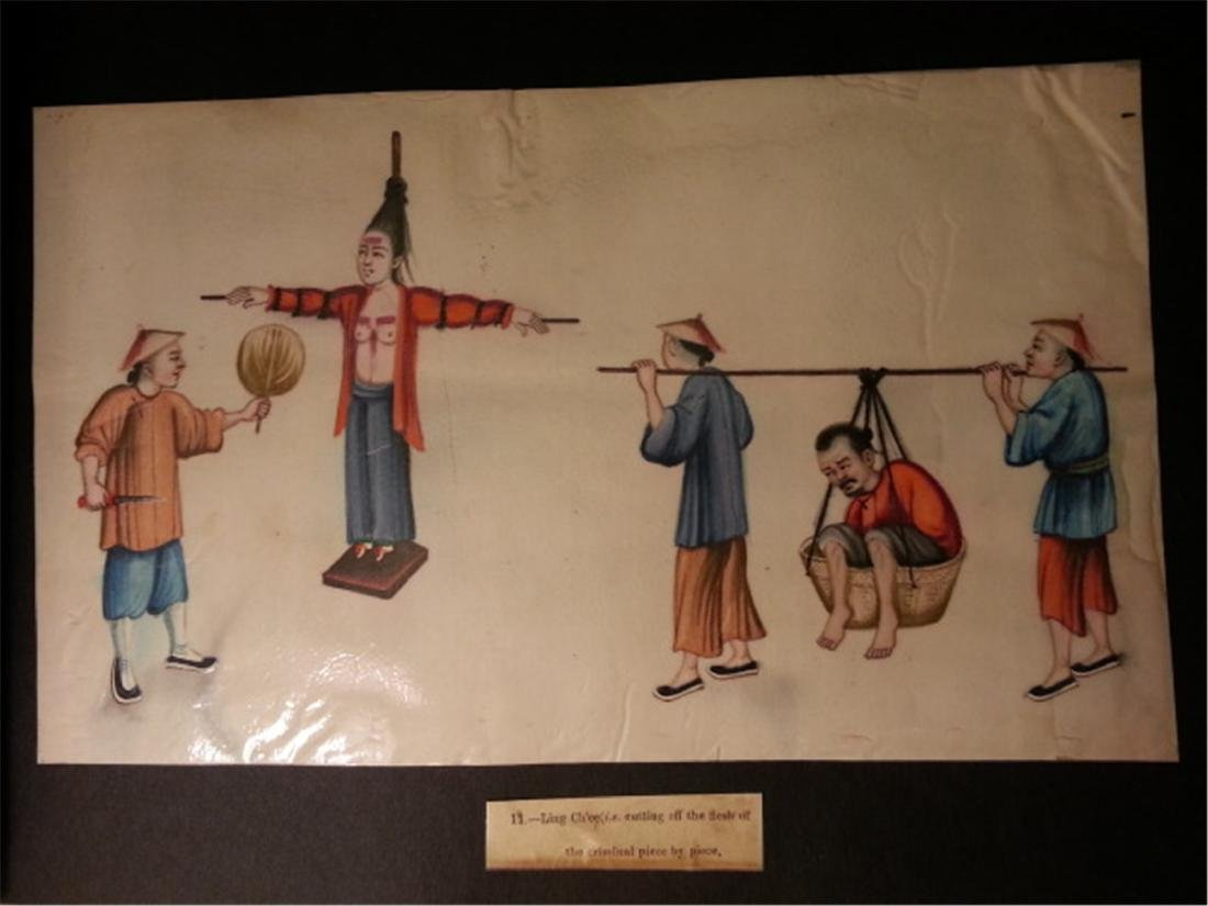 19th century Rice Paper Painting通草画 - 6