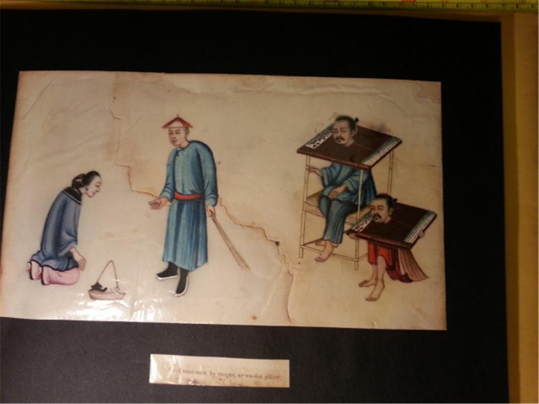 19th century Rice Paper Painting通草画 - 9