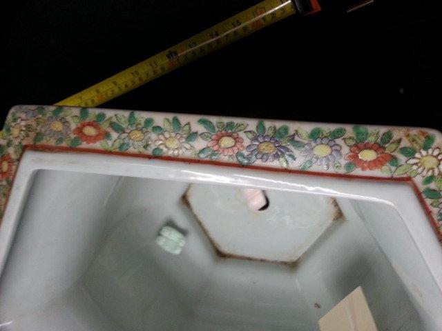 Famille Rose Procelain flower pot - 4