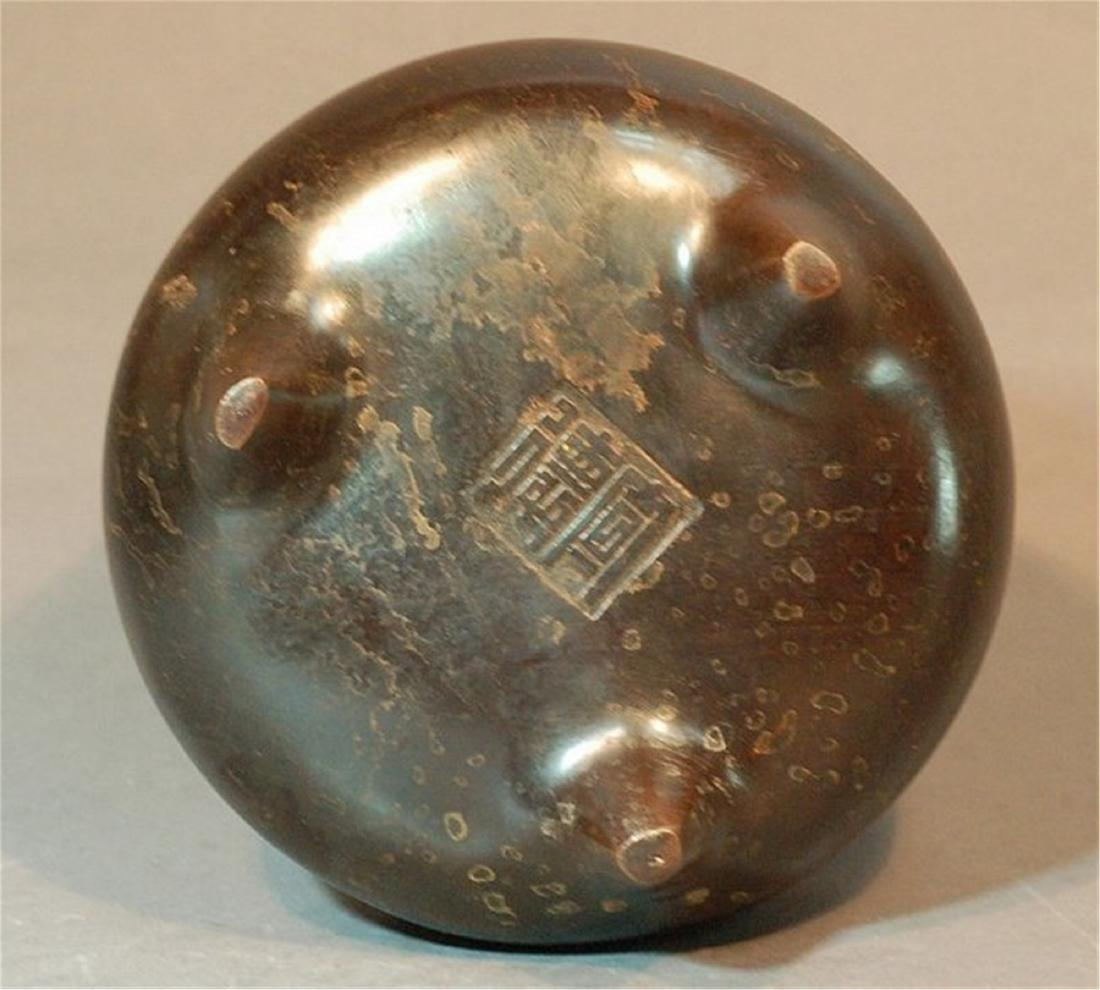 Bronze Incense Burner - 3