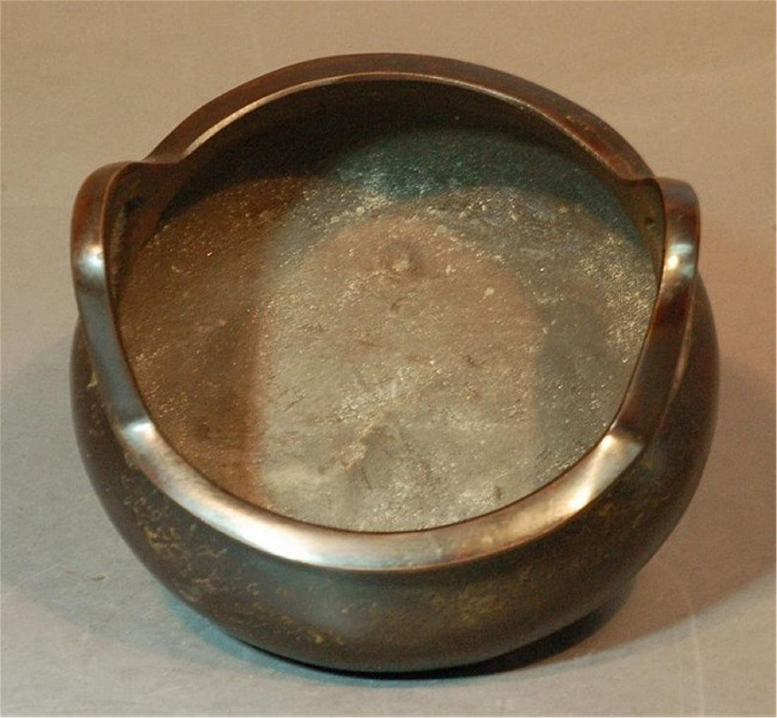 Bronze Incense Burner - 4