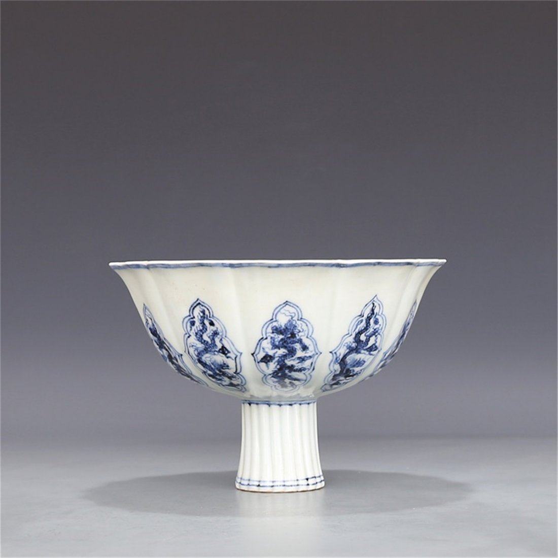 Ming Xuande Blue and White Ten Dragon Pattern - 2