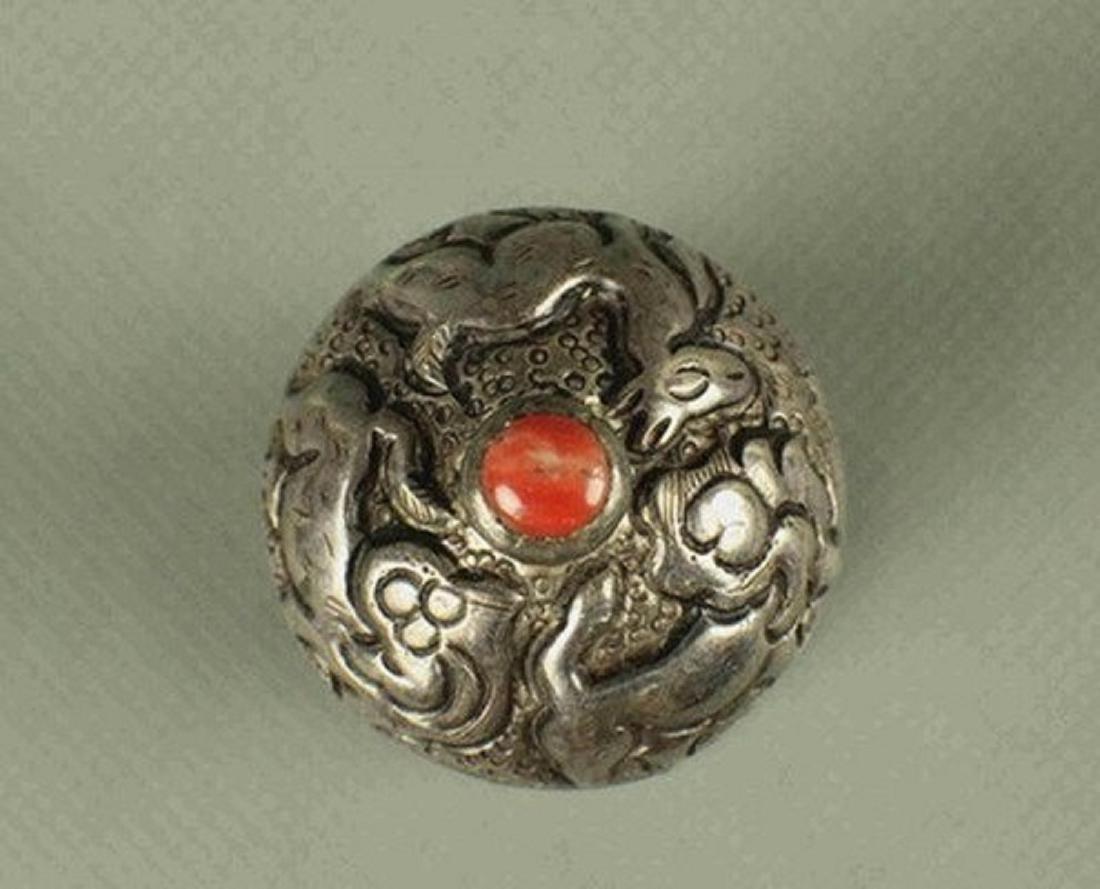 Beeswax seal of Tibetan Buddhism - 4