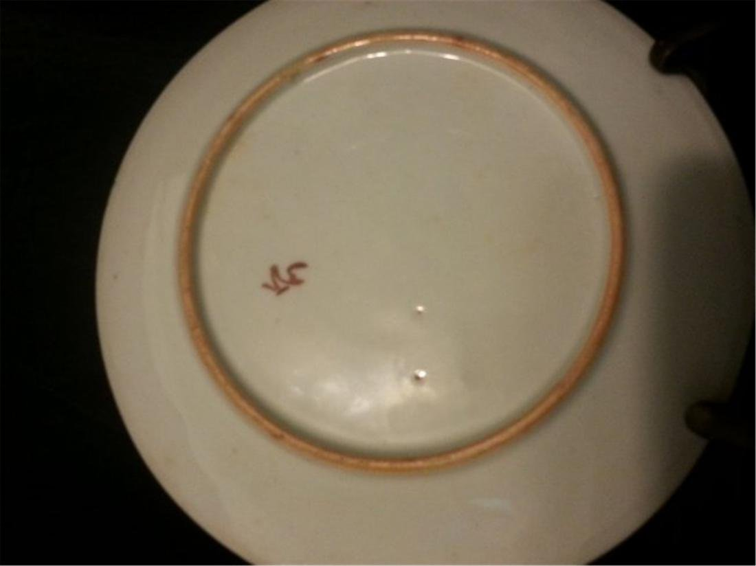 Late 19th Century Chinese Export Rose Medallion Dish - 4