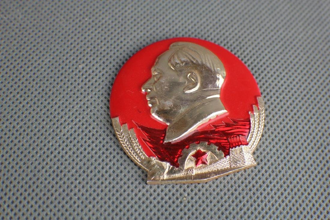MAO ZHE DONG BADGE