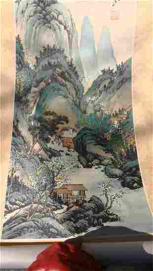 """China  scroll paintings"""""""