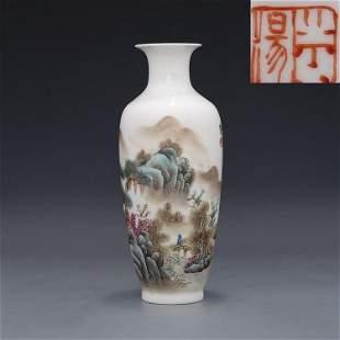 Republic of China Master Zhang Zhitang Hand-painted