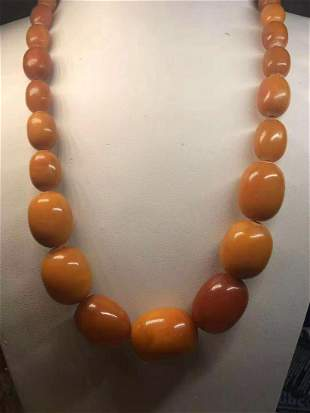 83g Nataral Baltic Amber necklace