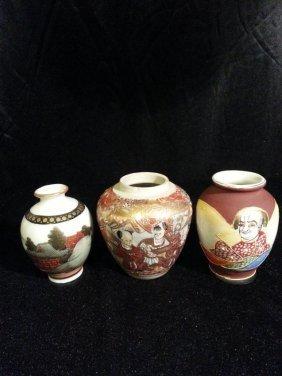 3 Japanese Imari Porcelain