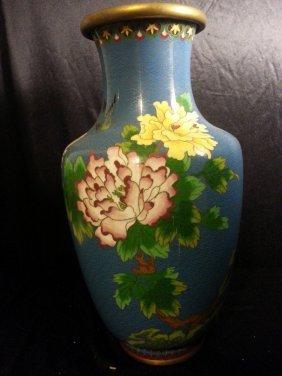 Big Chinese Cloisonne Vase