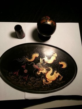 Antique Chinese And Lacquer