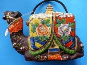 Japanese Imari Porcelain Teapot